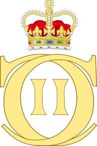 Royal Monogram of King Charles II of Great Britain
