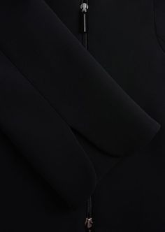 SINGLE-BREASTED SILK CADY JACKET: Fashion Jackets Women by Armani - 4