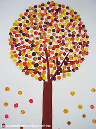Resultado de imagen de manualidades sencillas para otoño para niños