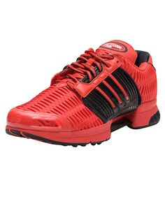 ADIDAS Clima Cool Men's low top sneaker Open mesh textile upper for breathability ADIPRENE®+ in the... True to size. Synthetic Materials. Red BB0540.