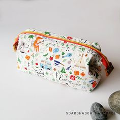 Jungle Party Cosmetic Frame Pouch Makeup Pouch by soarshadow