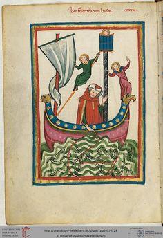 Codex Manesse, Herr Friedrich von Hausen, Fol 116v, c. 1304-1340