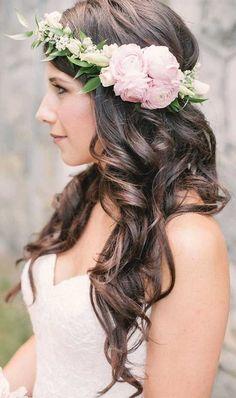 Stefania Sainato Wedding Hair styles #weddingcrowns