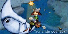 Educació i les TIC: 20 espais web per treballar els contes amb els infants I Love Reading, Reading Time, Moon Illustration, Crochet Baby, 1, Education, Drawings, Blog, Cards