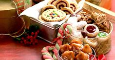 Christmas cookies are always a welcome addition to any holiday party. This year, keep it simple with these easy holiday cookie recipes that are chock full of seasonal holiday flavors. Holiday Cookie Recipes, Holiday Cookies, Holiday Baking, Holiday Treats, Christmas Baking, Christmas Biscuits, Holiday Fun, Christmas Deserts, Christmas Goodies