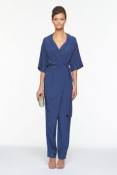 I lovvvvvvvvve this!!! A wrap dress and a jumpsuit in one? Yes please!