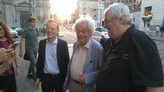 Presentazione di Ipotesi di felicità a Milano, con Maurizio Cucchi e Milo De Angelis, Libreria Verso Milano