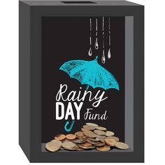 "Prinz ""It's A Rainy Day"" Piggy Bank"