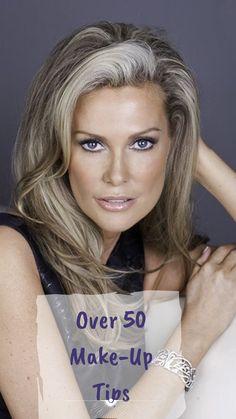 20 Best Makeup Tips for Women Over 50 - Makeup - Make Up Makeup Tips Over 50, Natural Makeup Tips, Best Makeup Tips, Best Makeup Products, Makeup Ideas, Natural Beauty, Makeup Tutorials, Makeup Tips To Look Younger Over 50, Makeup For Photos