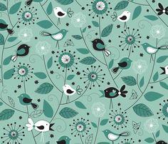 Sunrise fabric by jennartdesigns on Spoonflower - custom fabric
