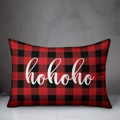 The Holiday Aisle Decorate for Christmas with this holiday-themed pillow. Digitally printed on demand, this design displays vibrant colours. The result is a beautiful accent pillow that will make you the envy of the neighbourhood this winter season. Buffalo Check Christmas Decor, Buffalo Check Pillows, Plaid Throw Pillows, Christmas Pillow Covers, Designer Pillow, Lumbar Pillow, Vibrant Colors, Colours, Buffalo Plaid