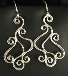 Sterling Silver Dangle Earrings by connieryan123 on Etsy, $26.00