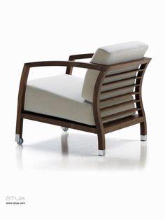 Jon Gasca, Malena armchair for STUA furniture label from Spain.
