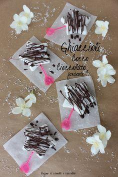 ghiaccioli latte di cocco e cioccolato fondente 2