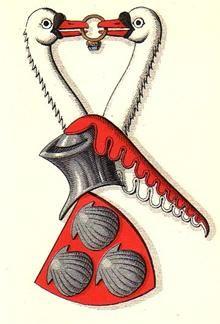 Rotfeld, Coat of arms - Våbenskjold.