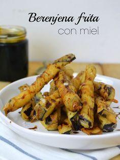 Berenjena frita con miel | Cuuking! Recetas de cocina