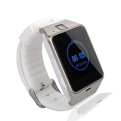 TopePop Sports Bluetooth Smart Watch Anti Lost SIM Card Cellphone Tf Card Slot Wristwatch Phone for Android Cellphones (white). bluetooth smart watch. Call function: GSM/GPRS 850/900/1800/1900 four frequency call. Dial, hands-free, phone records, phone book. could make calls and answer the telephone anywhere and anytime. HD display: High sensitive capacitive touch screen. perfect match technology. Large screen, show incoming caller number. NFC for Bluetooth match fast and easily…