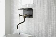 Wabi Sabi Art + Design from a Scandinavian perspective Natural elegance Scandinavian modern Harmonious style Creative spaces Clever DIY Tutorial Bad Inspiration, Bathroom Inspiration, Bathroom Ideas, Simple Bathroom, Bathroom Remodeling, Master Bathroom, Modern Bathroom Design, Bathroom Interior Design, Interior Ideas