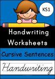 Handwriting Worksheets (Cursive Sentences)