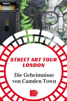 London Street Art Tour in Camden Town. Geheimnisse der Stadt. Entdecke eine Stadt durch die #urbane #Kunst #London #StreetArt #JohnLennon