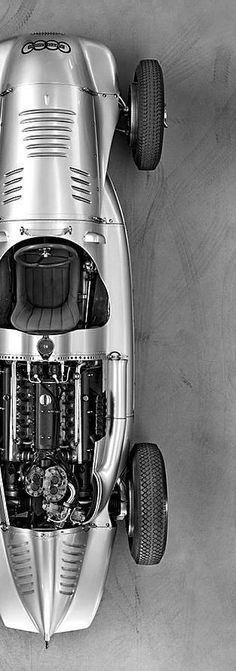 1938 Auto Union 16 cylinder GP car