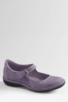 OMG I found my purple shoes...I've missed these. Women's Chalet Mary Jane Shoes from Lands' End