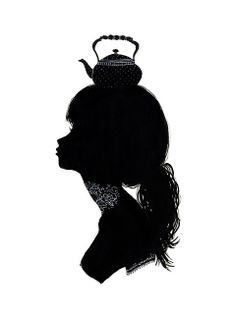 Silhouettes. We could have props to add on, like hats or other dress up objects.