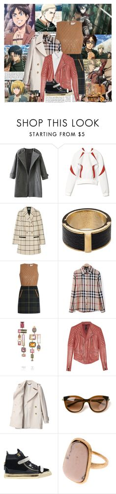 """""""Attack on Titan (2013- present)"""" by katieci ❤ liked on Polyvore featuring Prada, Edition, Prabal Gurung, Tory Burch, Witchery, Akiko, Mikasa, Thakoon Addition, Daniela Villegas and W118 by Walter Baker"""