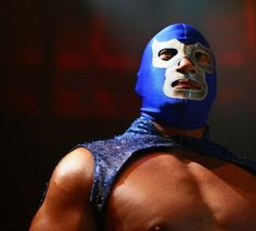 Blue Demon, another icon in Mexican lucha libre.