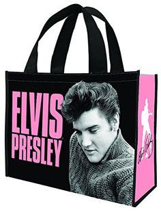 Elvis Presley Large Recycled Shopper Tote 47173 Vandor //.amazon.  sc 1 st  Pinterest & Elvis Presley 9