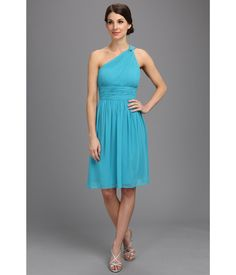 Simply romantic and elegant.. Light and airy chiffon dress with a ruched bodice for an exquisite l...