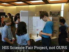 How one mom learned to let go and let her child lead on his science fair project. | Inga Cotton for Alamo City Moms Blog