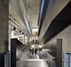 Отделение архитектуры, ландшафта и искусств Университета Гринвича, Heneghan Peng Architects