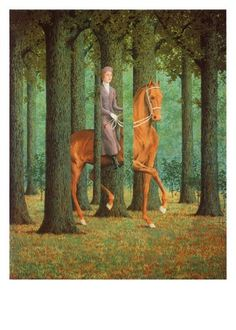 Le Blanc-Seing  Rene Magritte  Buy Art Print at AllPosters.com  The French title of Rene Magritt'e famous painting Le Blanc-Seing  (lite...