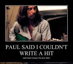 George Harrison=BAMF