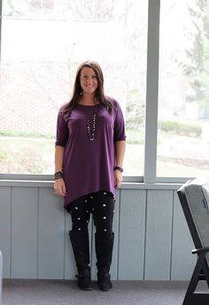 Ask Away...: Outfit of the Day: Lots of Dots