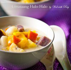 The Best Recipe of Coconut Milk Medley Soup - Filipino Dessert