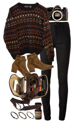 """""""Untitled #8988"""" by nikka-phillips ❤ liked on Polyvore featuring Nikon, Acne Studios, INDIE HAIR, ASOS, Lab and Yves Saint Laurent"""
