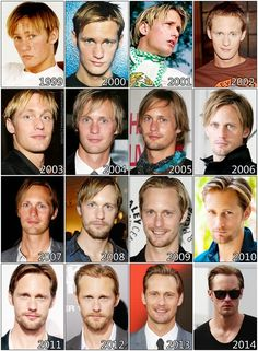 The Evolution Of: Alexander Skarsgård