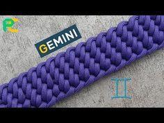 Gemini Paracord Bracelet - YouTube