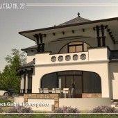 casa-cu-etaj-59-3 Art And Architecture, Dan, Houses, House Design, Traditional, Mansions, House Styles, Frame, Home Decor