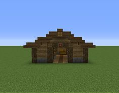 Horse Stable - GrabCraft - Your number one source for MineCraft buildings, blueprints, tips, ideas, floorplans!