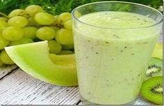 Melhore a circulação e elimine o inchaço com estas dicas e o suco de uva e melão!