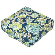 "floor pillow | ... Home Fashions Bertie fabric 20"" Square Floor Pillow Decorative Pillows"