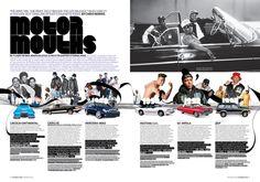 Blender Magazine by Claudia de Almeida, via Behance