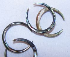 Avaia Artistic Jewelry  - Abalone shell septum pinchers 12g. 10g, 8g large diameter, $10.99 (http://www.avaiaartisticjewelry.com/products/Abalone-shell-septum-pinchers-12g.-10g,-8g-large-diameter.html)