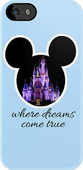 Disney Iphone cases dreams really do come true there