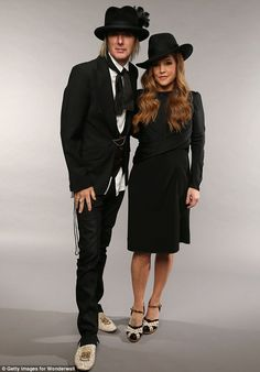 {*Lisa Marie Presley & Husband Michael Lockwood they have twins together Harper & Finley*}