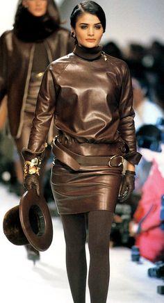 Helena Christensen Christian Dior Haute Couture Fall/Winter 1991