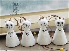 Aliexpress.com : Buy Japanese style windbags zakka   cat ceramic wind chimes windmill f39 from Reliable windmill watches suppliers on TGLOE. $7.65